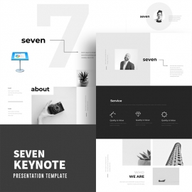 Seven Creative Keynote Template