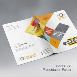 Shoot Studio Presentation Folder
