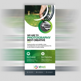 Shoot Studio Rollup Banner