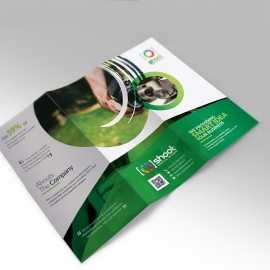 Shoot Studio Trifold Brochure