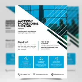 Simple Business Corporate Flyer