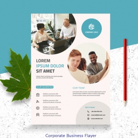 Simple Business Flayer