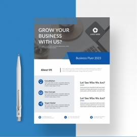 Simple Business Flyer Template