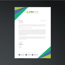 Simple Business Letterhead