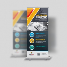 Simple Business Rollup Banner