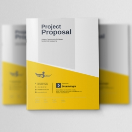 Simple Clean Project Proposal
