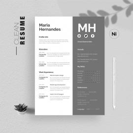 Simple Clean Resume