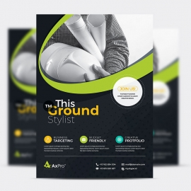 Simple Corporate Business Flyer