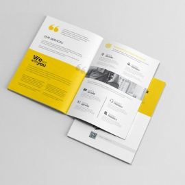 Simple Creative Bifold Brochure