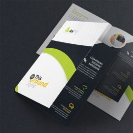 Simple Creative Business  Bifold Brochure
