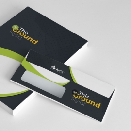 Simple Creative Business Commerial Envelope