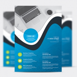 Simple Creative Business Flyer Template