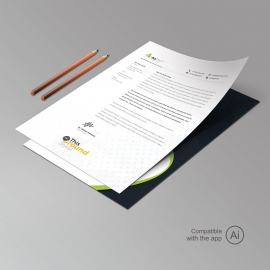 Simple Creative Business Letterhead Design
