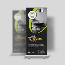 Simple Creative Business Rollup Banner