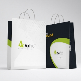 Simple Creative Business Shopping Bag