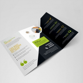 Simple Creative Business Trifold Brochure