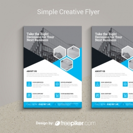 Simple Creative Flyer Template