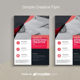 Simple Creative Flyer Template