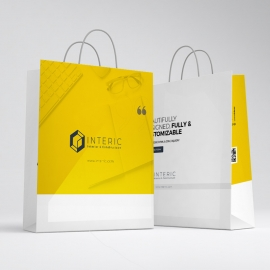 Simple Creative Shopping Bag