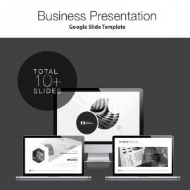 Simple Google Slide Presentation Template