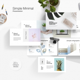 Simple Minimal Powerpoint Template