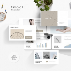 Simple P. Powerpoint Template