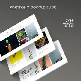 Simple Portfolio Google Slide Template