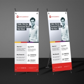 Simple Rollup Banner