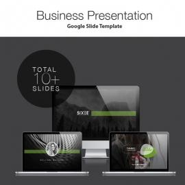 Six Google Slide Presentation Template