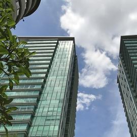 Skyline Buildings Outdoor Interior Architecture