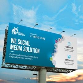 Social Media Billboard Sinage