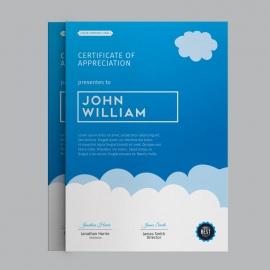 Social Media Certificate Design