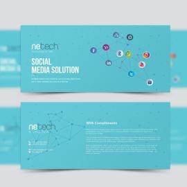 Social Media Compliment Card