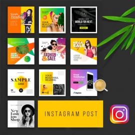 Social Media Creative Instagram Post Template