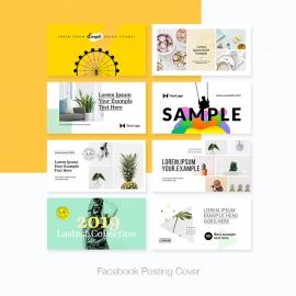 Social Media Facebook Posting Cover Kit