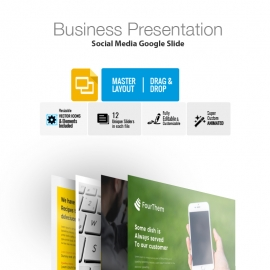 Social Media Google Slide Template