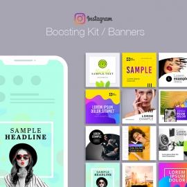 Social Media Instagram Boosting Kit