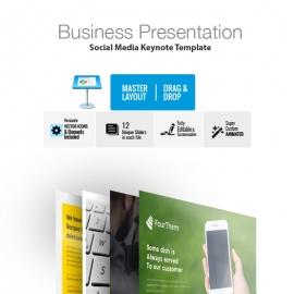 Social Media Keynote Template