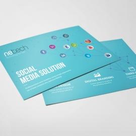 Social Media Post Card