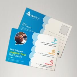 Social Media Postcard Design