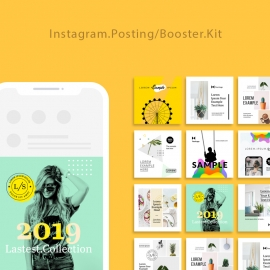 Social Media Posting & Booster Kit for Instagram