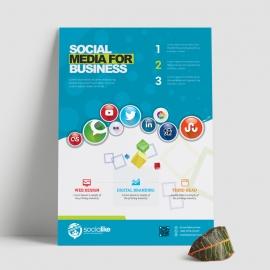 Social Media Service Flyer