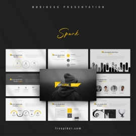 Spark PowerPoint Template