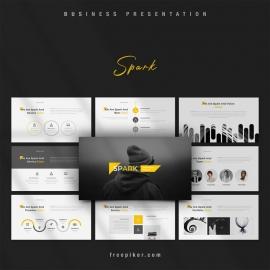 Spark PowerPoint Template