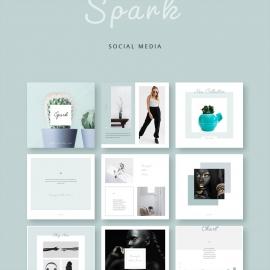 Spark Social Media PowerPoint