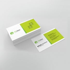 Sport & Fitness Businesscard Template