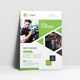 Sport & Fitness Flyer Template