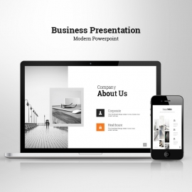 Start Up Modern Powerpoint Template