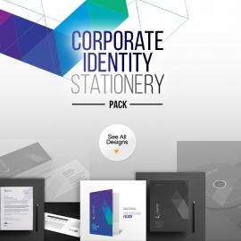 Stenor | Corporate Business Identity Stationery Pack