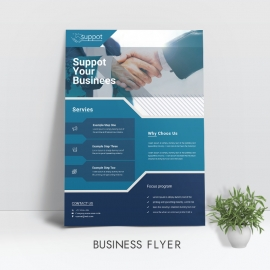 Support Business Flyer